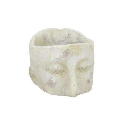 Small White Clay Plater