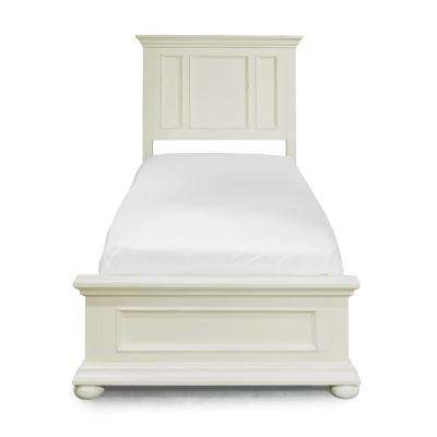 Dover 2-Piece White Twin Bedroom Set