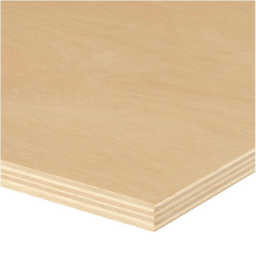 null Sande Plywood (Common: 3/4 in. x 4 ft. x 8 ft.; Actual: 0.709 in. x 48 in. x 96 in.)
