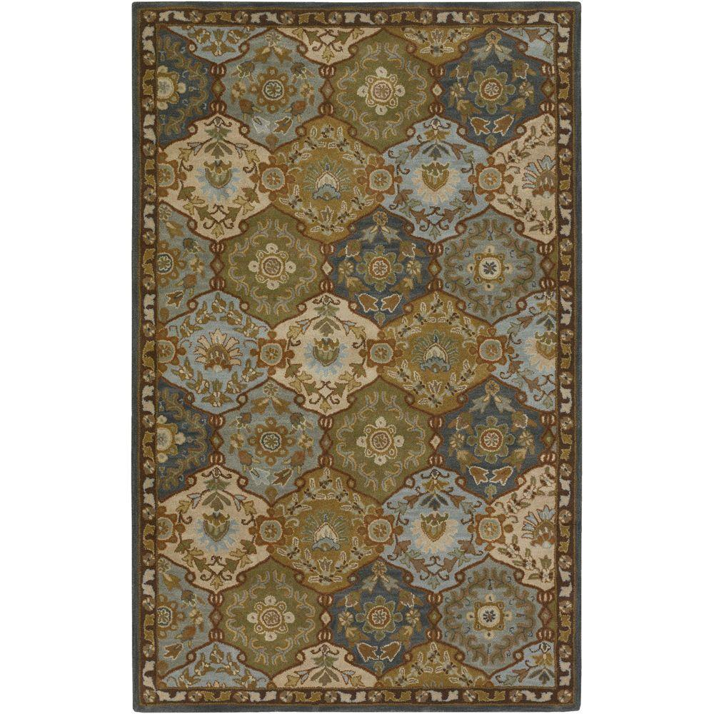 John Blue 8 ft. x 11 ft. Area Rug