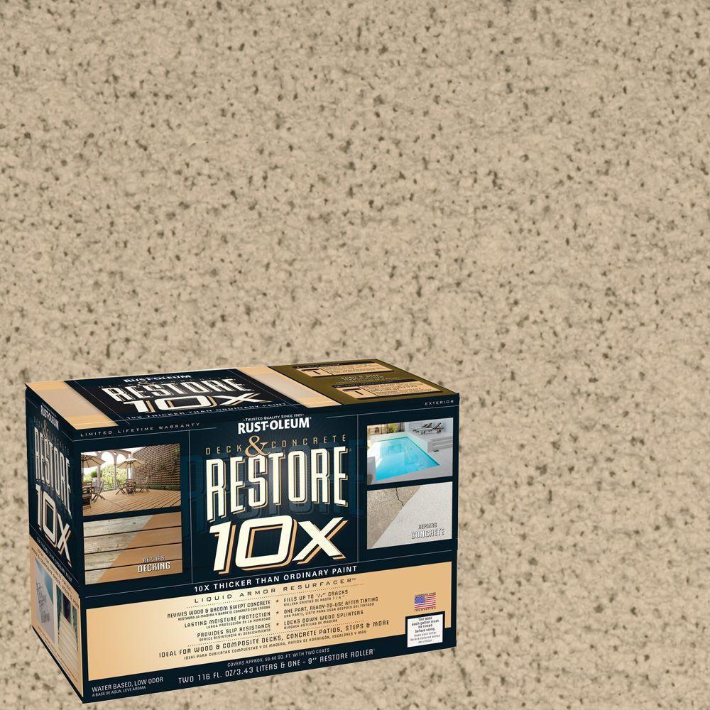 Rust-Oleum Restore 2-gal. Rattan Deck and Concrete 10X Resurfacer