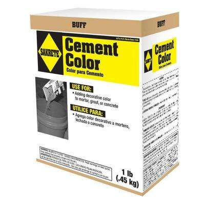 1 lb. Cement Color Buff