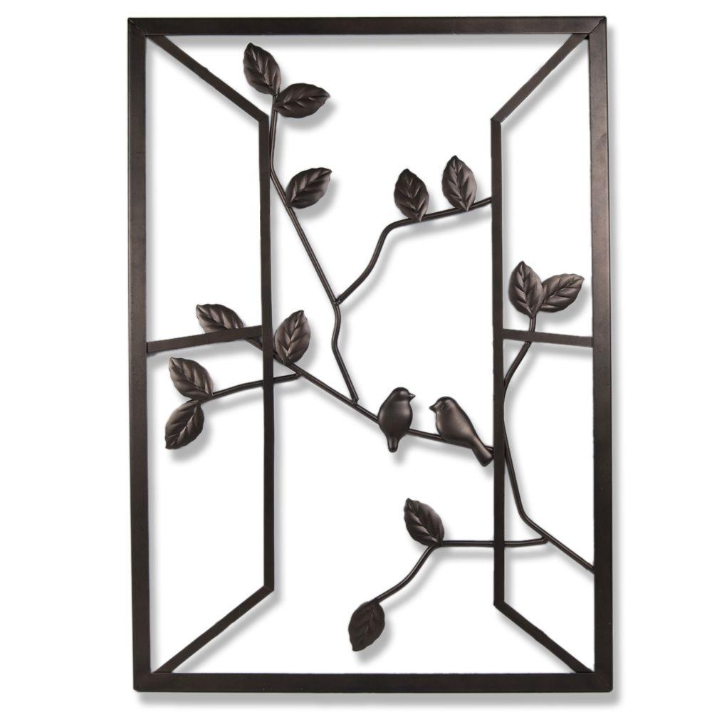 Open Window 20 In W X 28 H Metal Wall Art