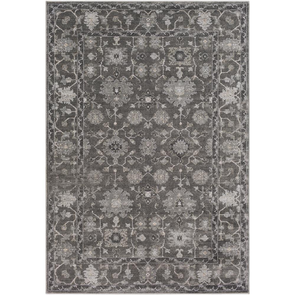 Tranquil Medium Gray 2 ft. x 3 ft. Area Rug