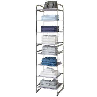 Versa System 8-Tier Shelf Storage Tower