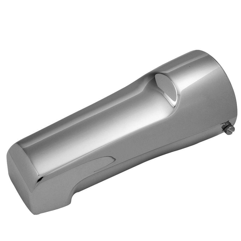 Mixet 6-1/2 in. Quikspout Filler Tub Spout in Chrome