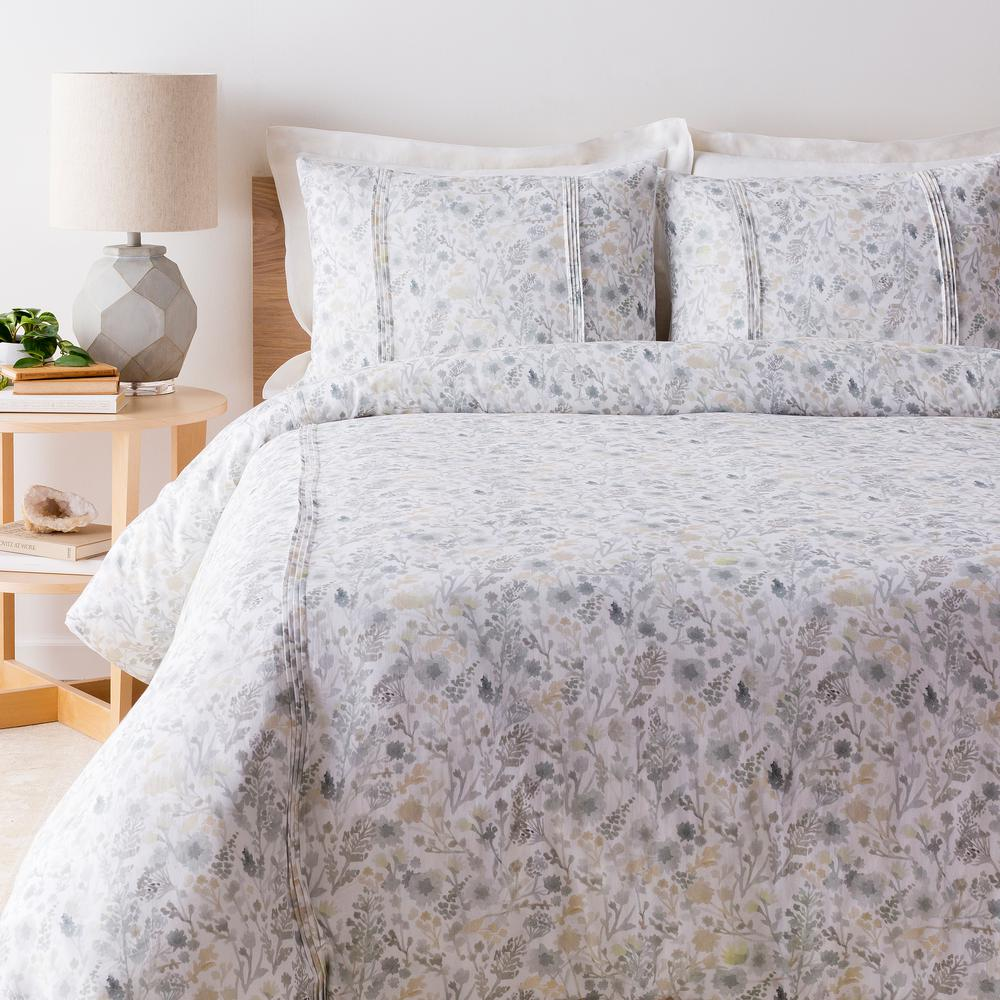 Artistic weavers camilla white twin duvet set