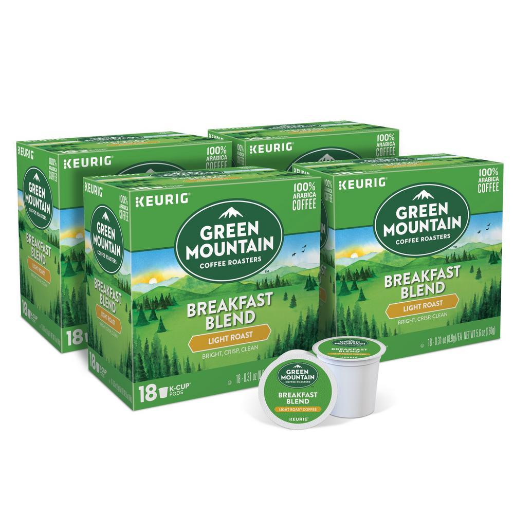 Keurig Green Mountain Coffee Breakfast Blend K-Cups (72-Counts) 5000204211