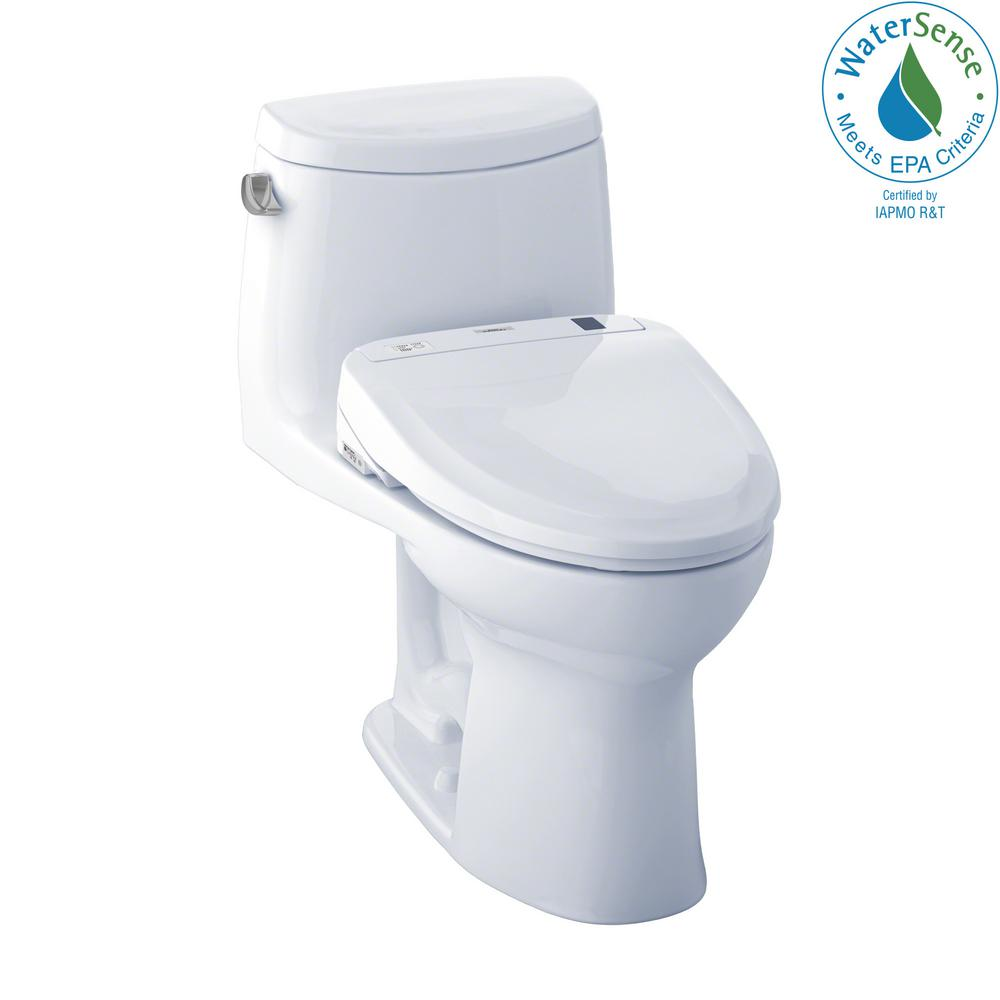 Toto Ultramax Ii Connect 1 Piece 1 28 Gpf Elongated Toilet