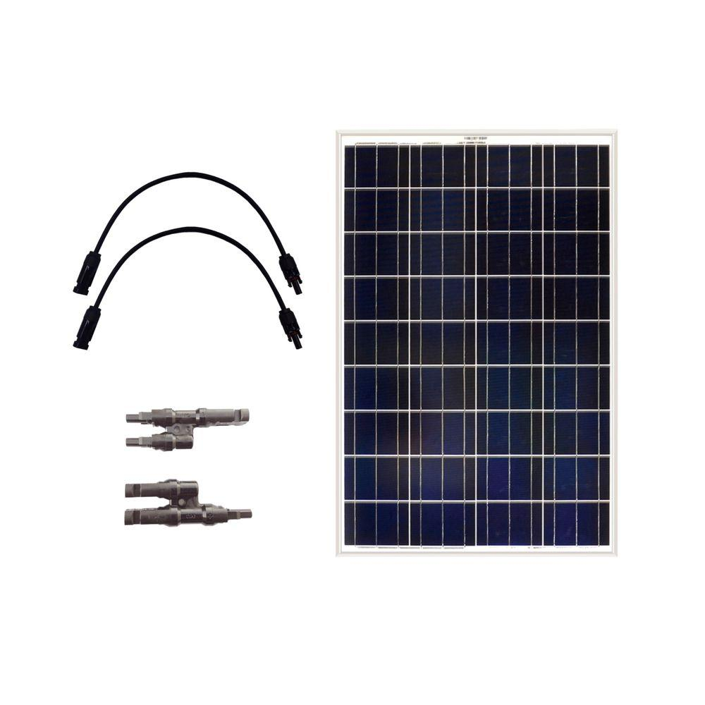 Grape Solar 100-Watt Off-Grid Solar Panel Expansion Kit