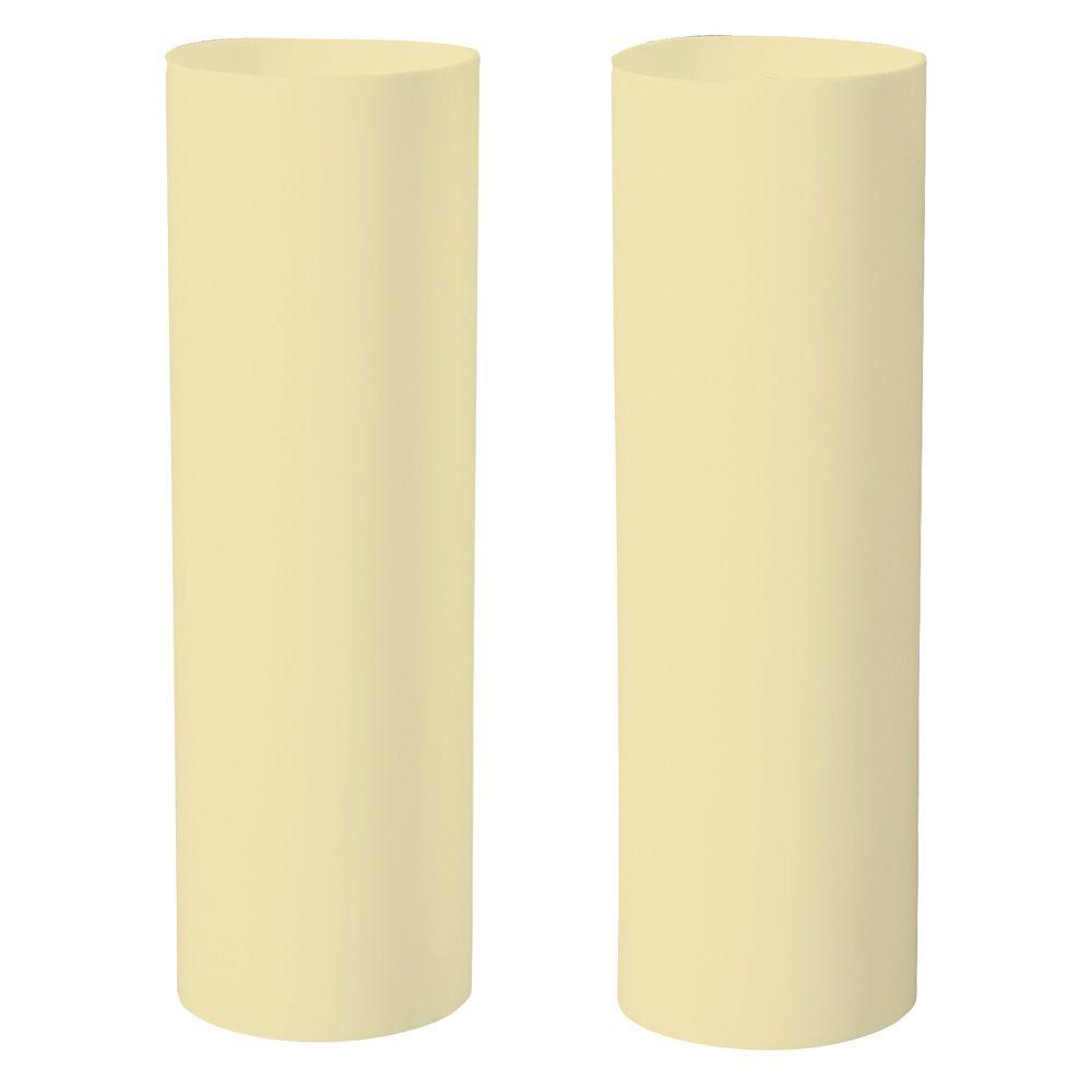 Westinghouse 4 in. Ivory Medium-Base Candle Socket Covers (2-Pack)