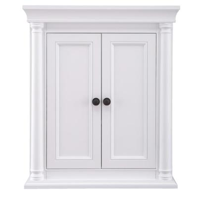 Strousse 26 in. W x 30 in. H Wall Cabinet in White