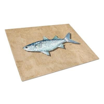 Mullet Tempered Glass Large Cutting Board