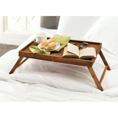 Brown Bed Tray