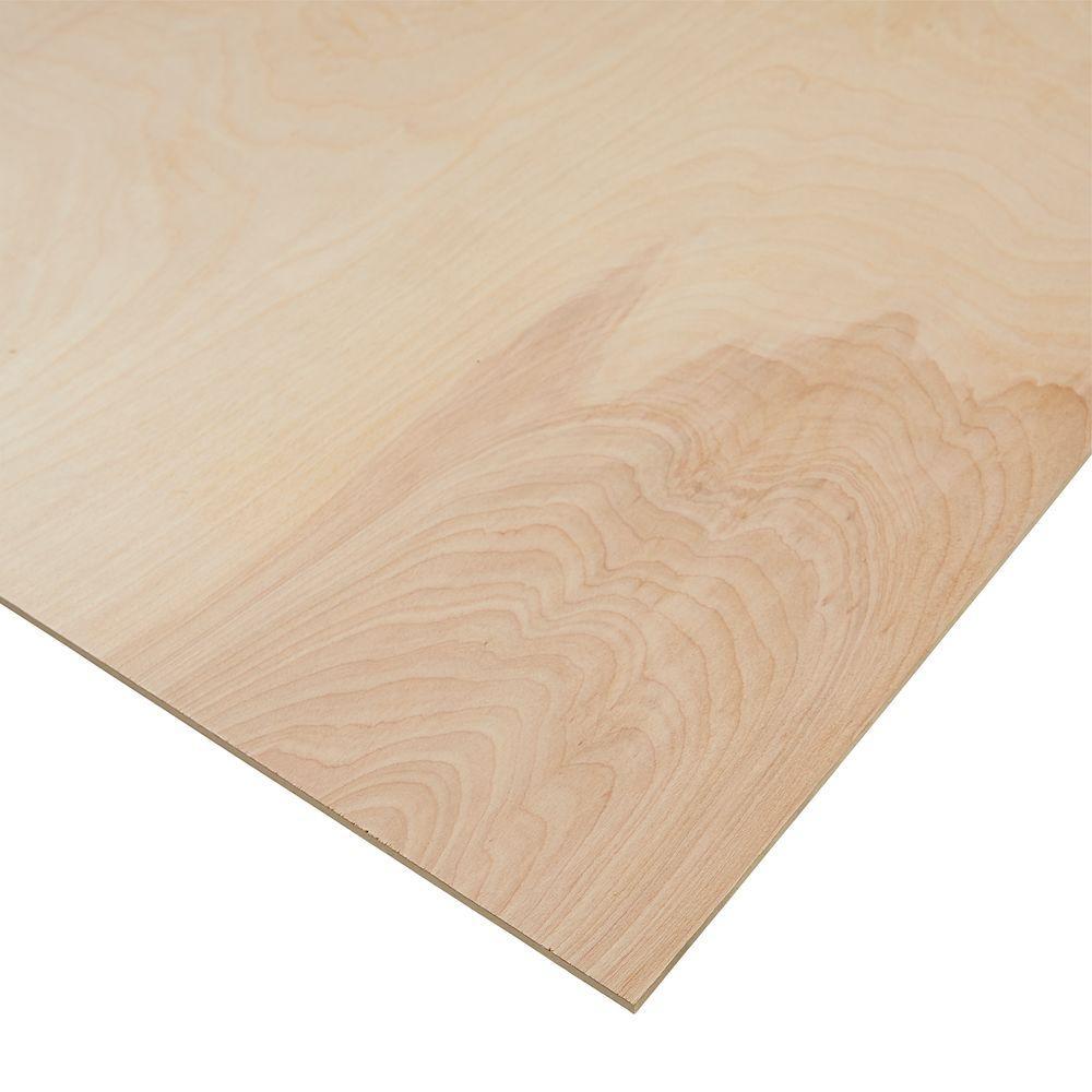 1/4 in. x 4 ft. x 8 ft. PureBond Birch Plywood (FSC Certified)