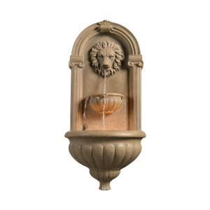 Click here to buy  Regal 35 inch Sandstone Wall Fountain.