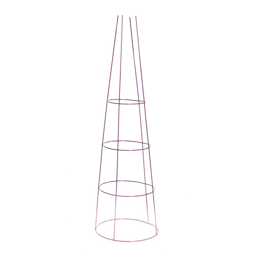 G&B 54 in. Galvanized Tomato Cage-901592A - The Home Depot