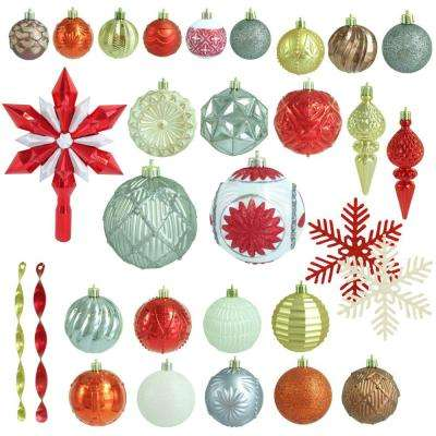 Pepperberry Lane Shatter-Resistant Ornament (100-Count)