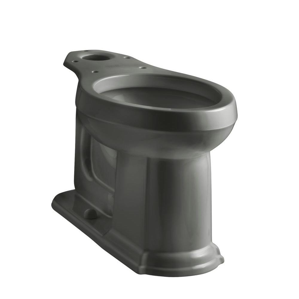 Kohler Devonshire Elongated Toilet Bowl Only In Thunder