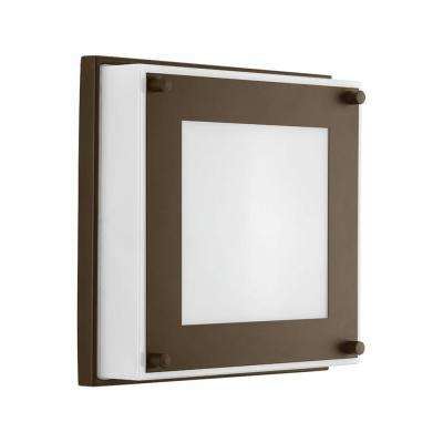 Anson Collection 17 -Watt Architectural Bronze Integrated LED Wall Sconce