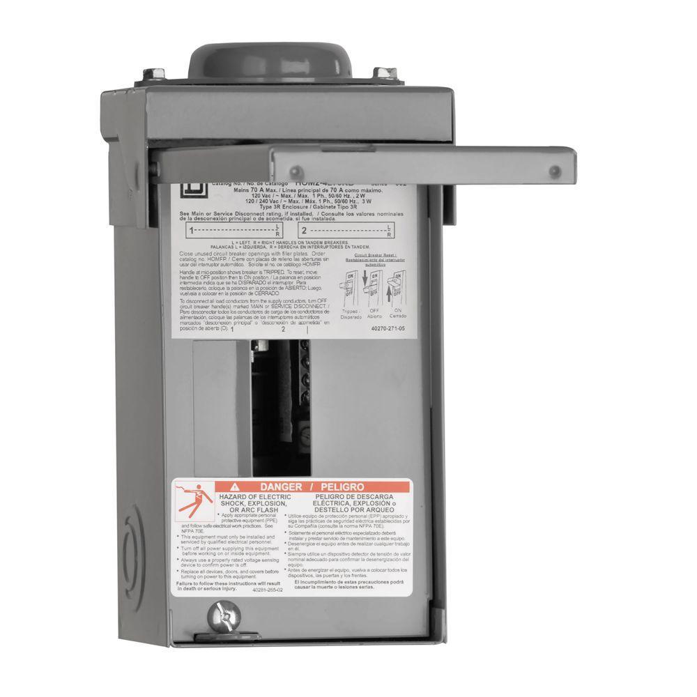 Homeline 100 Amp Main Load Wiring Diagram Wire Data Schema Outdoor Center Somurich Com 125