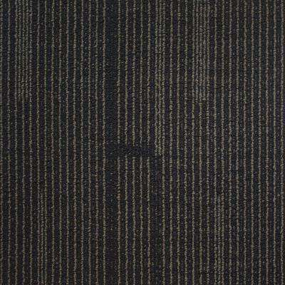 Windsor Terrace Navy Loop 19.7 in. x 19.7 in. Carpet Tile (20 Tiles/Case)