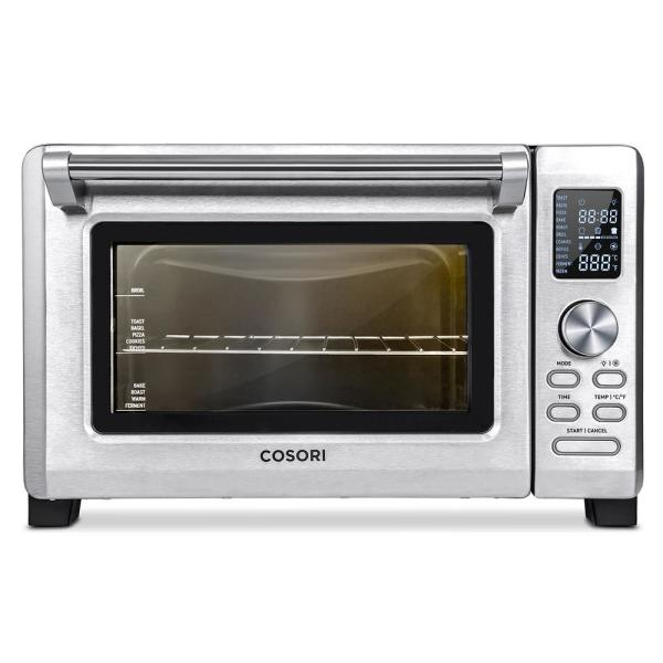 Convection Toaster Oven 25 l Stainless Steel with Extra Wire Rack