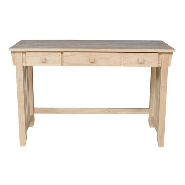 International Concepts Unfinished Keyboard Tray Desk Of