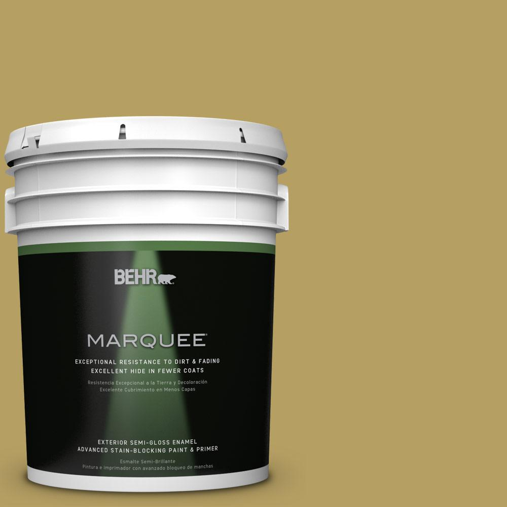 BEHR MARQUEE Home Decorators Collection 5-gal. #hdc-CL-19 Apple Wine Semi-Gloss Enamel Exterior Paint, Greens