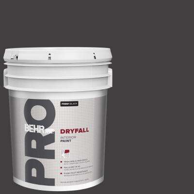5 gal. Black Dryfall Interior Paint