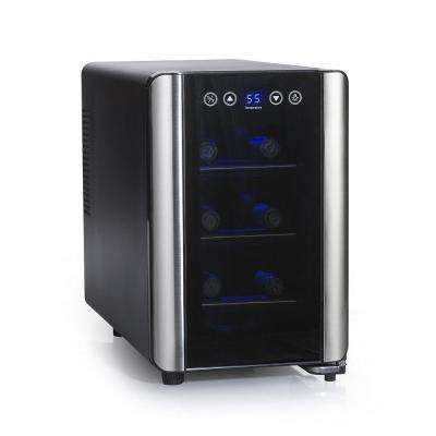 Silent 6-Bottle Touchscreen Wine Cooler