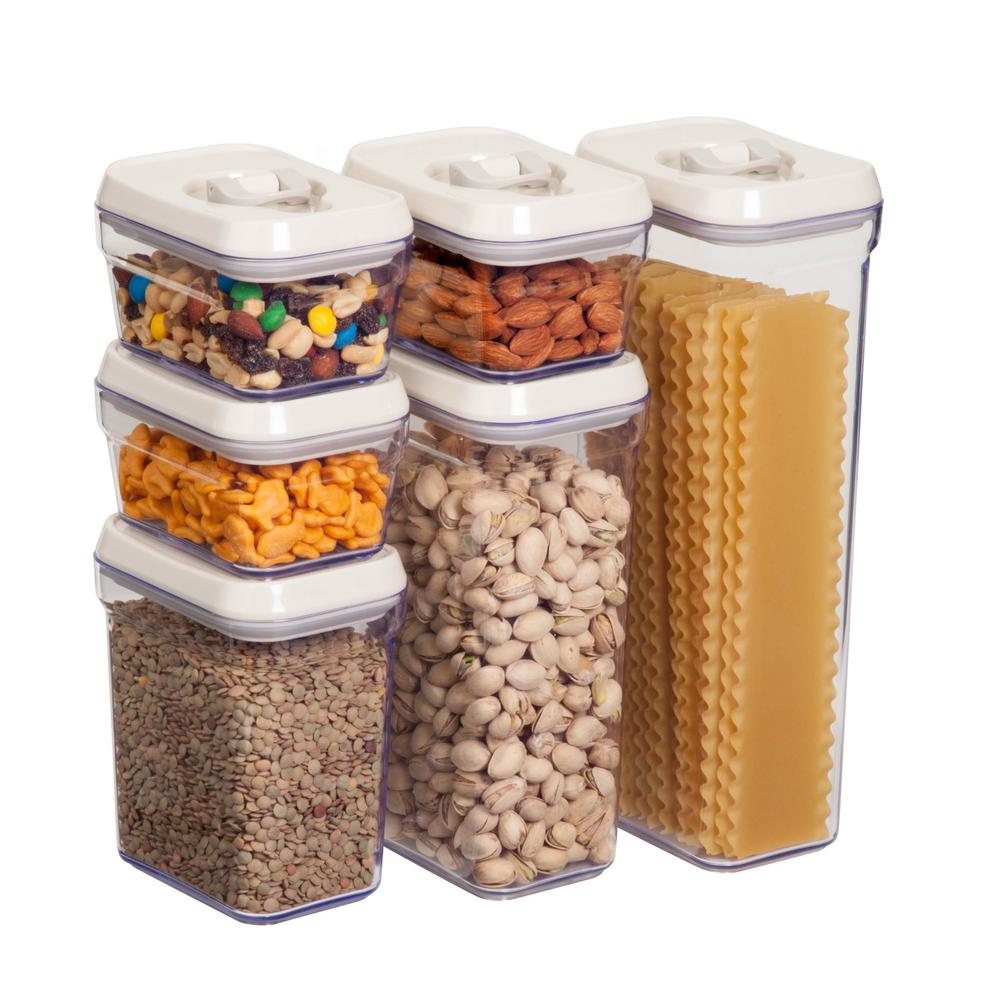 Honey Can Do 12  Piece Locking Food Storage Set