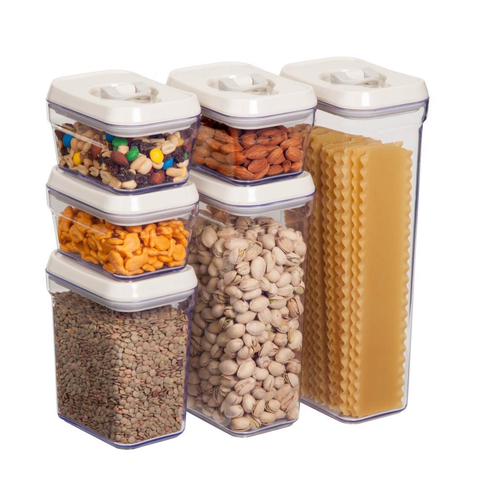 12 -Piece Locking Food Storage Set