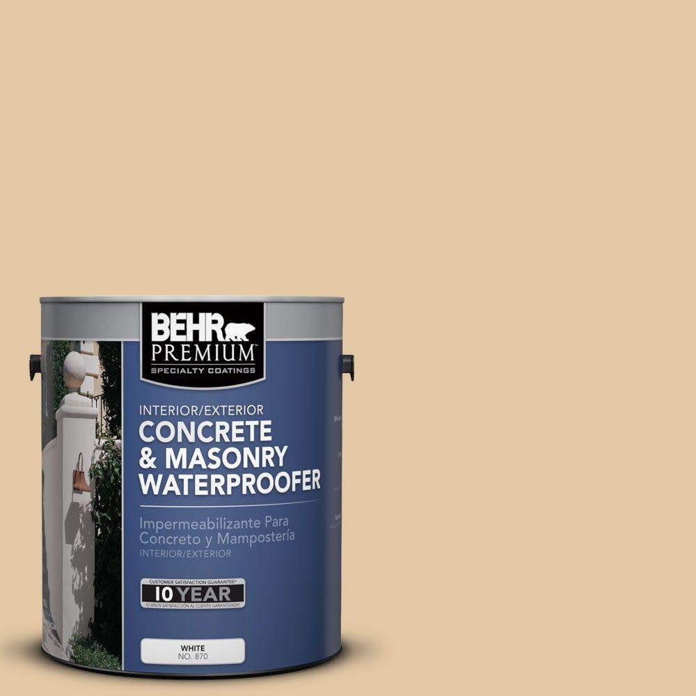 1 gal. #BW-40 Ochre Beige Concrete and Masonry Waterproofer