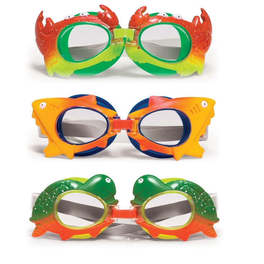 Poolmaster Children's Animal Frame Goggles (3-Pack)