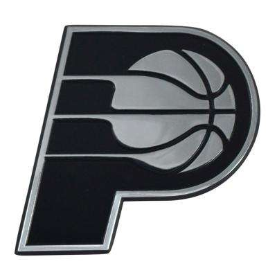 NBA-Indiana Pacers 3 in. x 3.2 in. Chrome Emblem