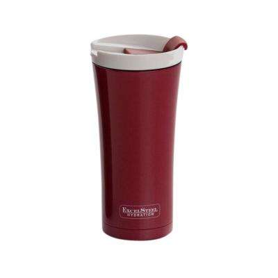 16 oz. Red Double Walled Stainless Steel Coffee Tumbler