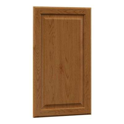 0.75x27.80x16.03 in. Hampton Island Decorative End Panel in Medium Oak