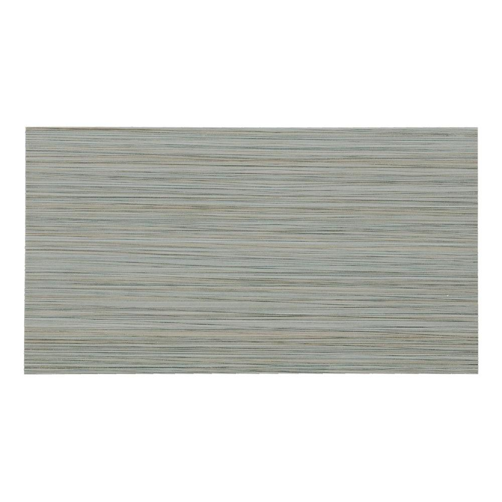 Italia Zen Noir 12 in. x 24 in. Porcelain Floor and
