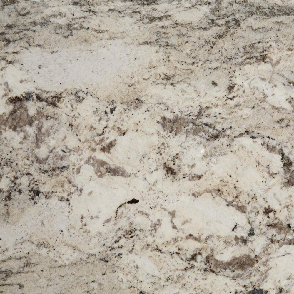 3 in. x 3 in. Granite Countertop Sample in Casa Blanca