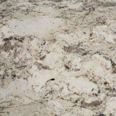 3 in. x 3 in. Granite Countertop Sample in Casa Blanca