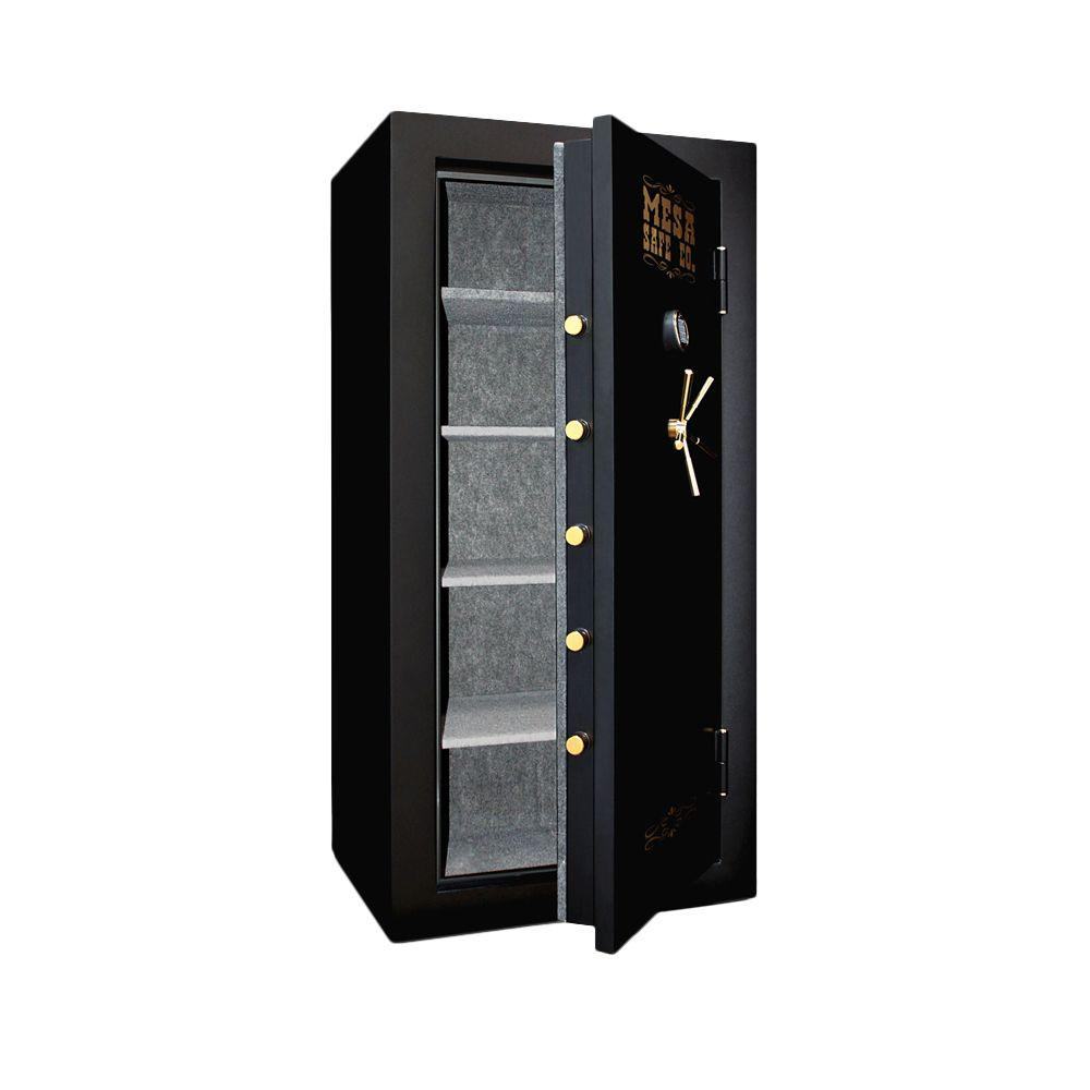 MESA 21.1 cu. ft. All Steel Burglary and Fire Safe with Electronic Lock in Black