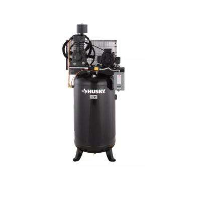 80 Gal. 2-Stage Cast Iron Electric Air Compressor