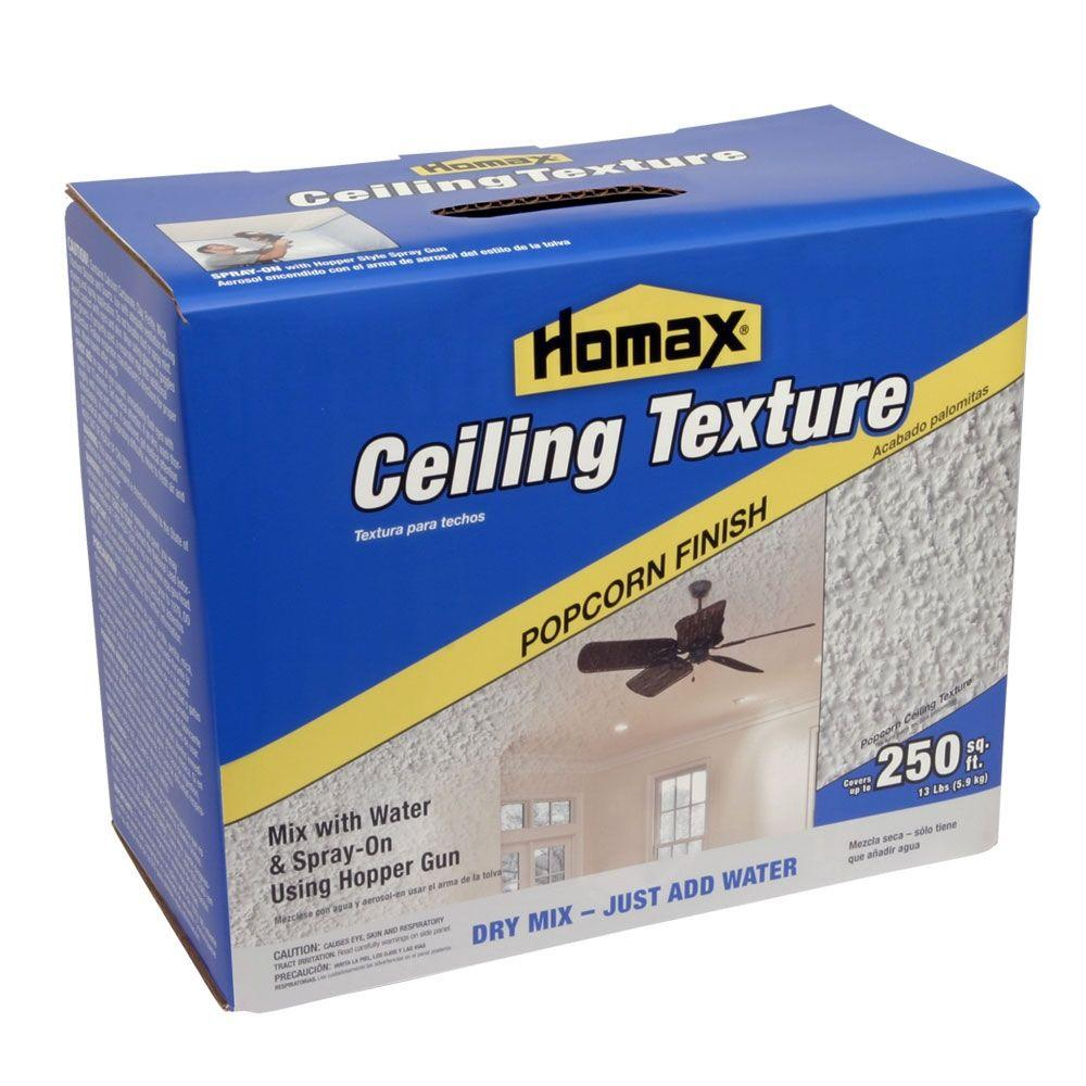 Homax 13 lb. Dry Mix Popcorn Ceiling Texture-8560-30 - The Home Depot