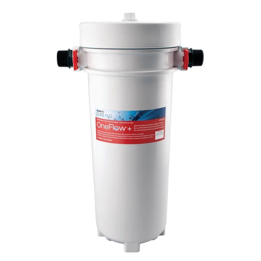 Watts OneFlow + Scale Prevention and Water Filtration System
