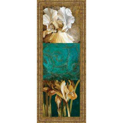 "18 in. x 42 in. ""From My Garden II"" by Linda Thompson Framed Printed Wall Art"