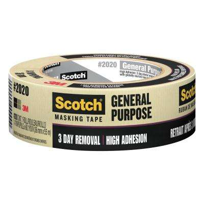 Scotch 1.41 in. x 60.1 yds. Painting Production Masking Tape (Case of 24)
