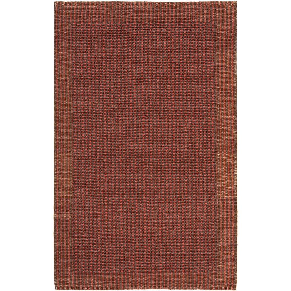 Safavieh Natural Fiber Brown/Rust 4 ft. x 6 ft. Area Rug