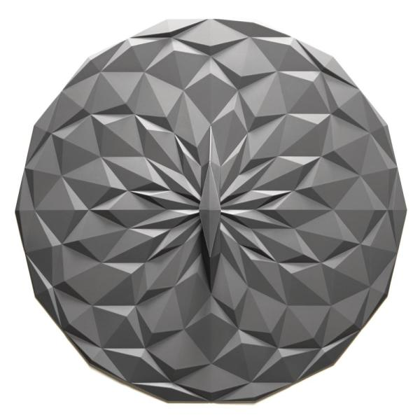 GIR Round 12.5 in. Suction Lid in Gray GIRLD1110GRY