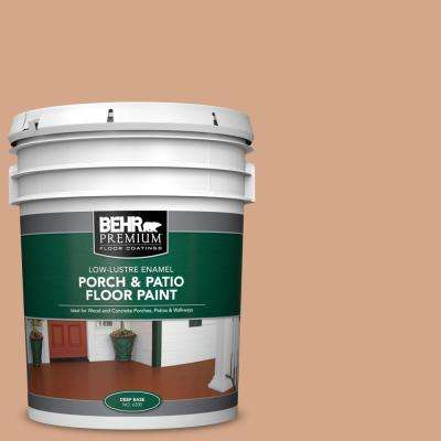 5 gal. #PPU3-11 Autumn Air Low-Lustre Enamel Interior/Exterior Porch and Patio Floor Paint
